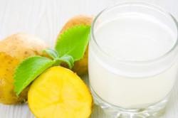 Картофельный сок при лечении поджелудочной железы