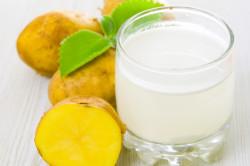 Использование сока картофеля при лечении острого панкреатита