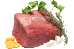 Свежая говядина для приготовления котлет на пару
