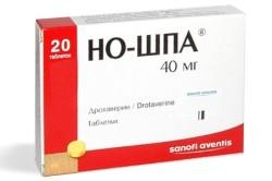 Но-Шпа для лечения реактивного панкреатита