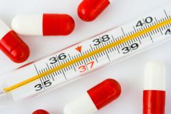 Повышение температуры при попадании инфекции