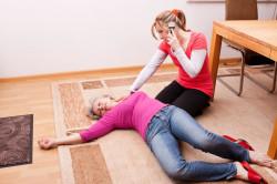 Потеря сознания при разрыве кисты