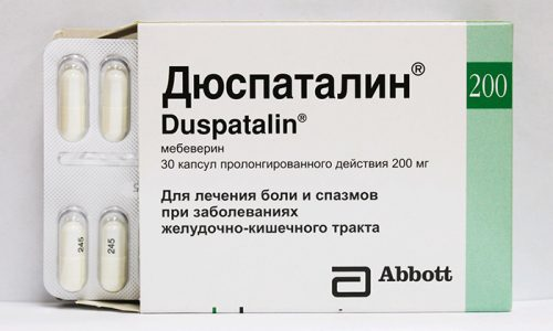 Часто больным назначаются спазмолитические препараты, убирающие спазмы в кишечнике