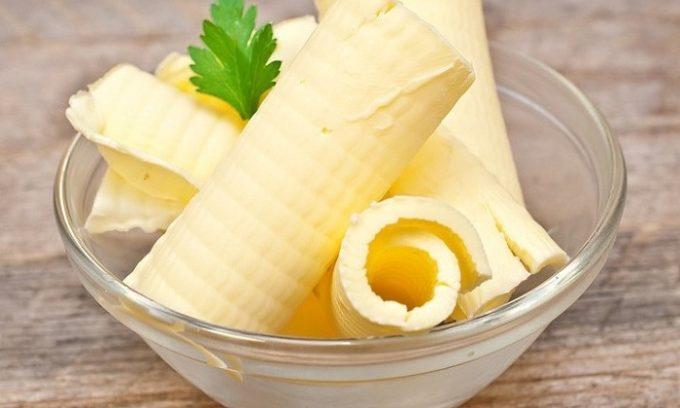 В блюда из тыквы разрешено добавлять небольшое количество несоленого сливочного масла