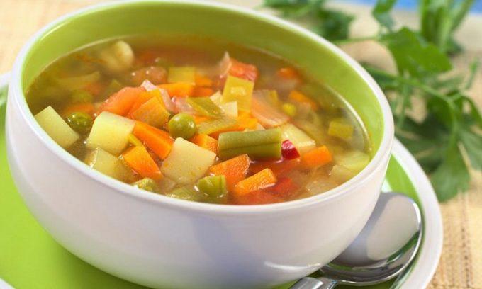 При панкреатите овощи желательно употреблять отварные