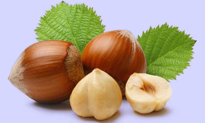 Состав лесных орехов полезен: в нем много белка (в несколько раз превышает содержание белка в мясе), витаминов и редких микроэлементов